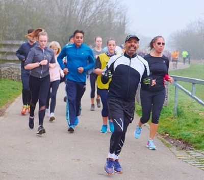 ESM Couch-to-5K course – Perivale Track – Wed 03 Apr 2019